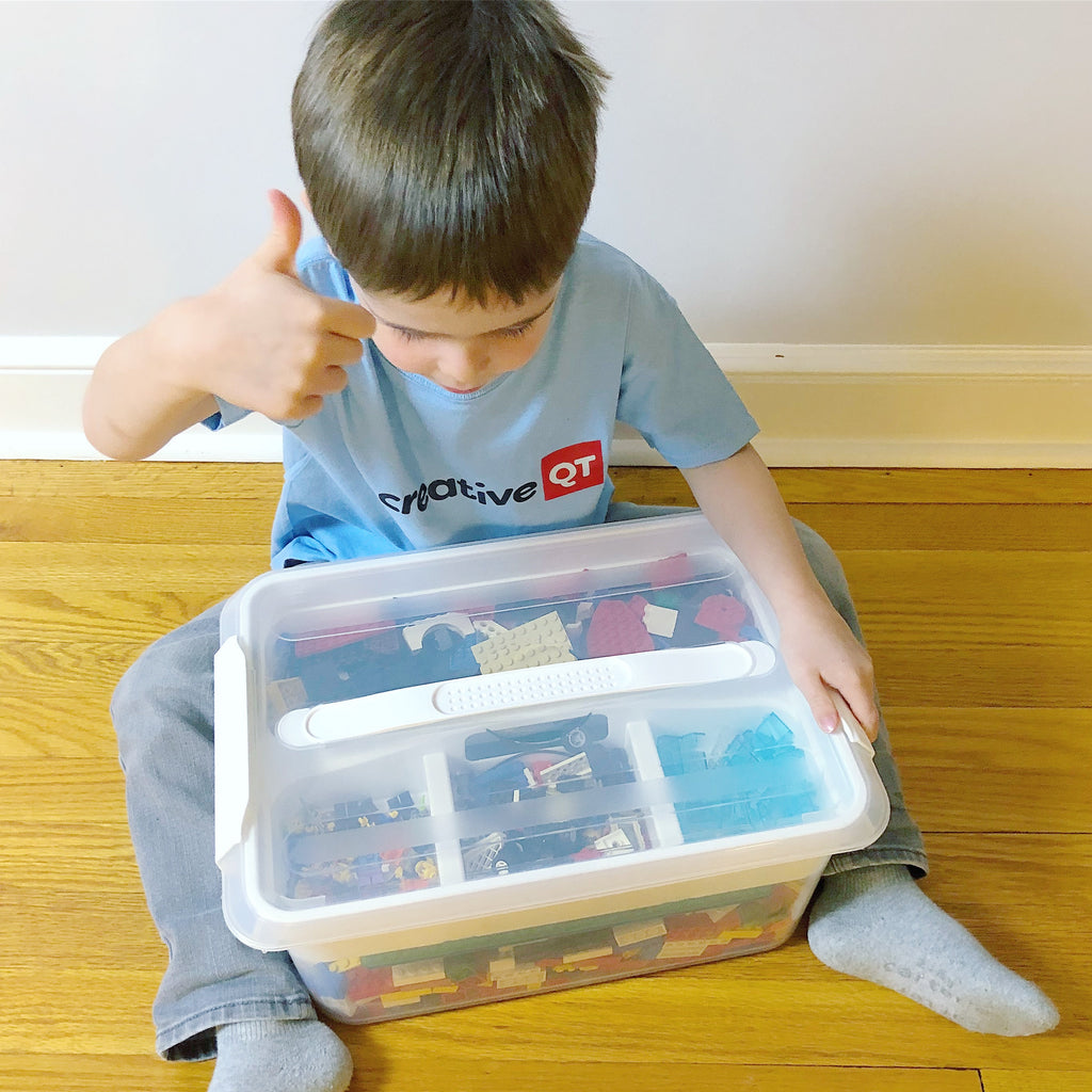 Craft Caddy Hack! How to Organize LEGOS