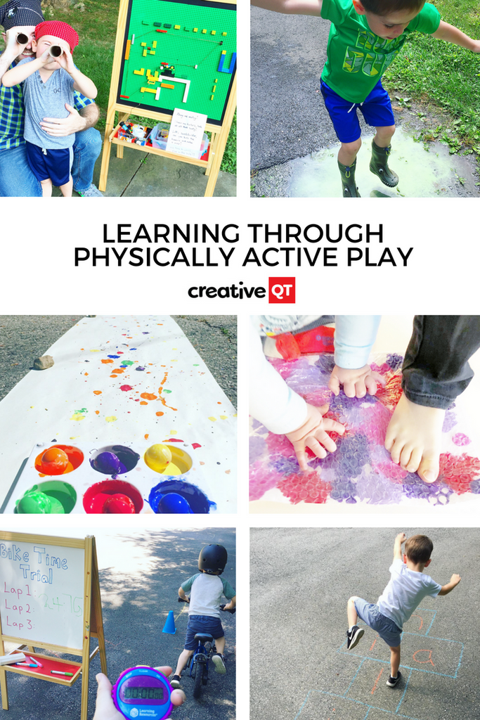 Learning Through Physically Active Play