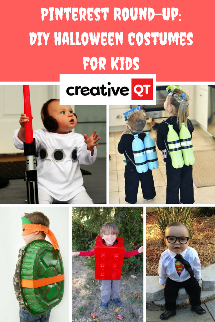 We rounded up the best last minute DIY Halloween costumes for kids on pinterest and compiled them all into one list.  sc 1 st  Creative QT & Pinterest Round-Up: Last Minute DIY Halloween Costumes for Kids ...