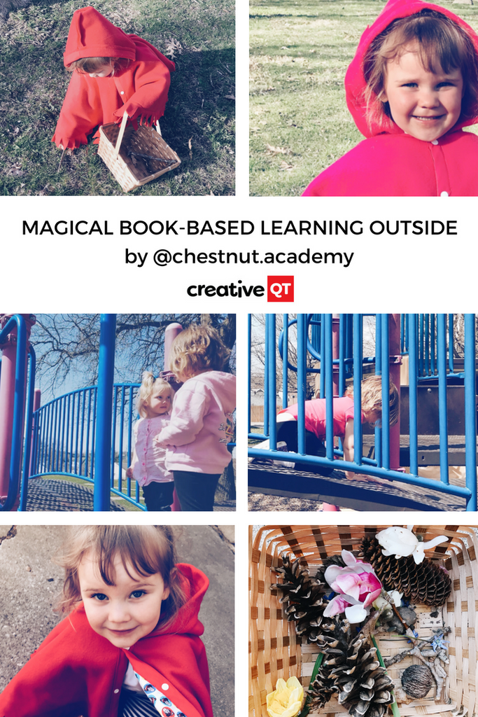 Magical Book-based Learning Outside!