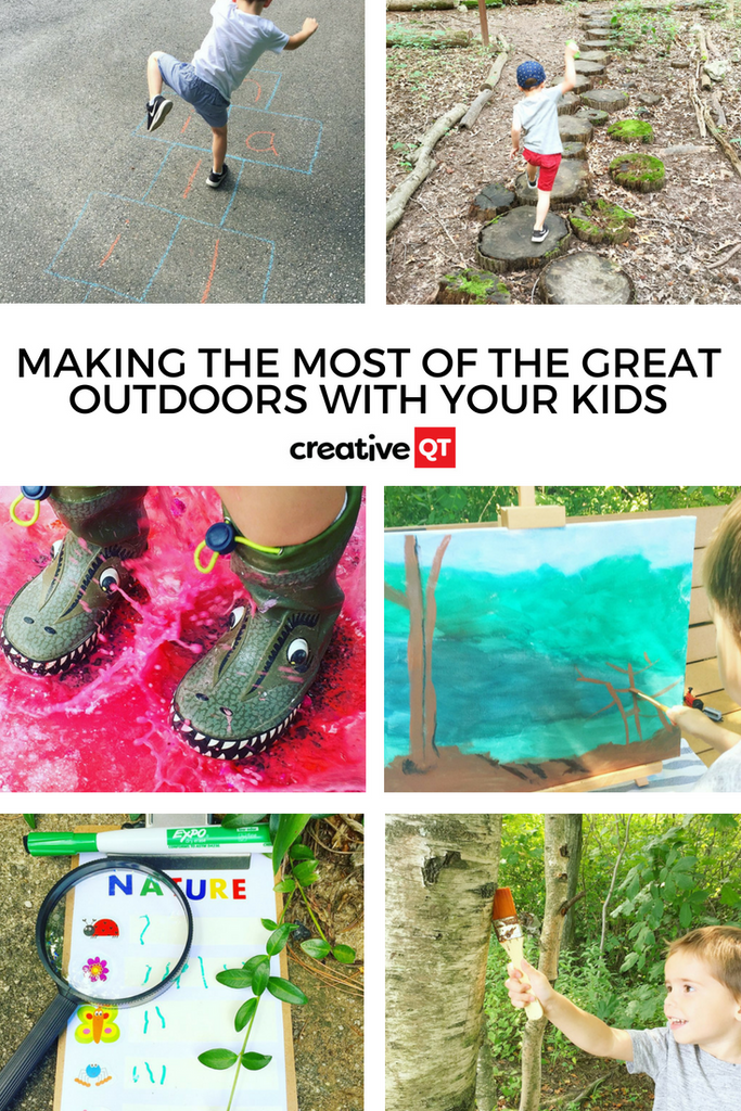 Making the Most of the Great Outdoors with your Kids