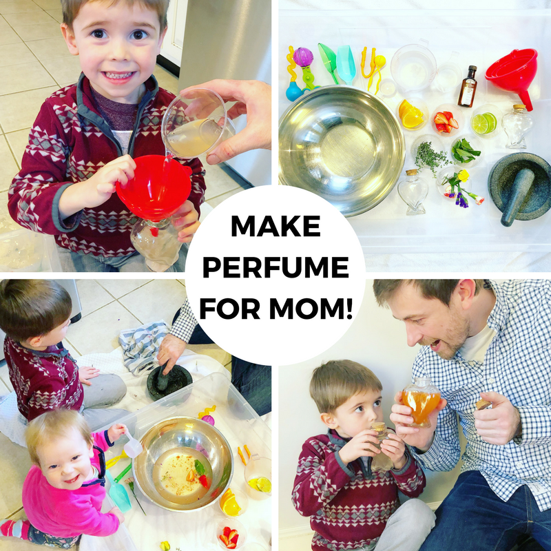 Make Time Together Creative Challenge: Make Perfume for Mom!