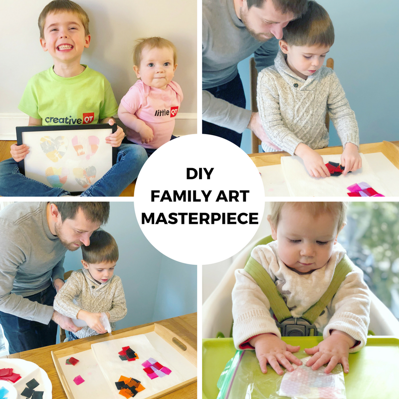 Make Time Together Creative Challenge: Family Masterpiece
