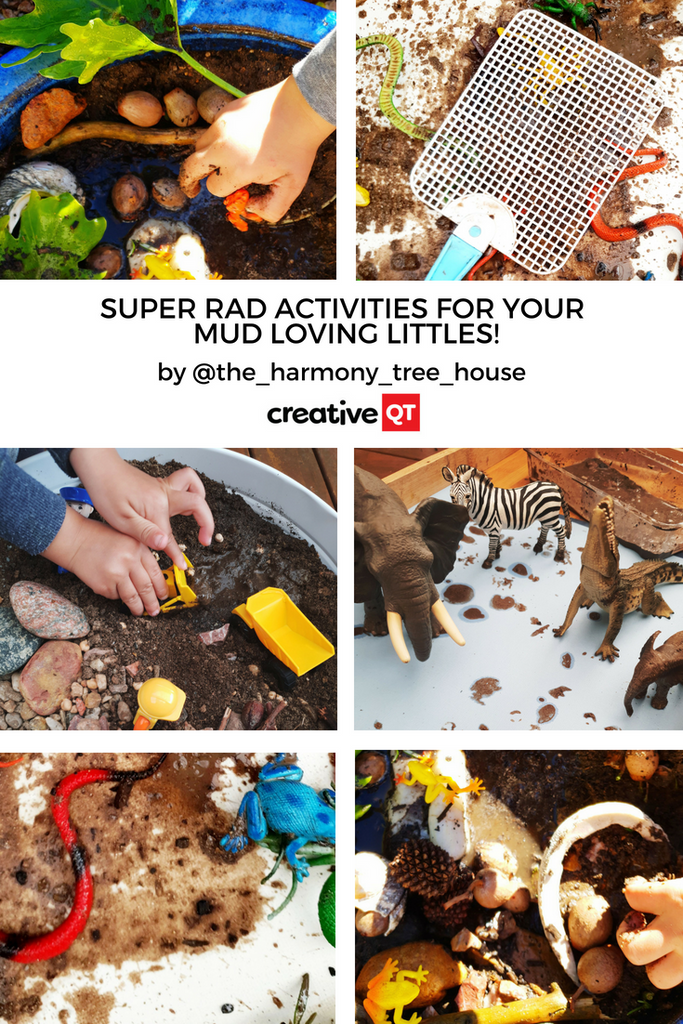Mud Glorious Mud! Super Rad Activities for your Mud Loving Littles!