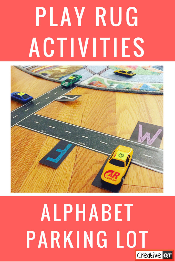 "Create an ""Alphabet Parking Lot"" With Our Play Rug!"