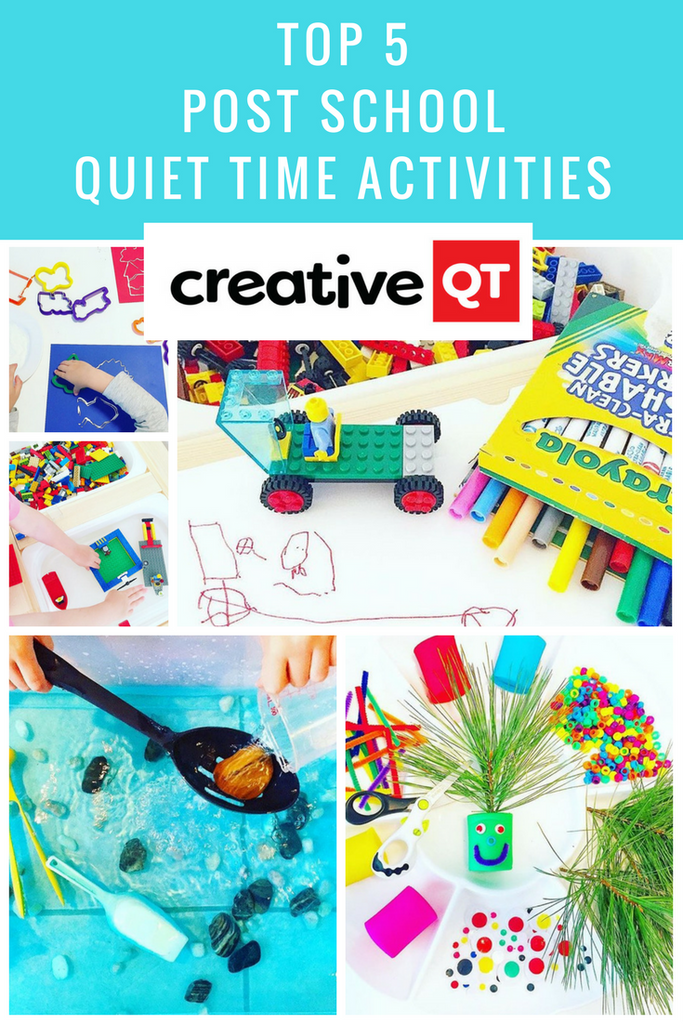 Top 5 Post School Quiet Time Activities