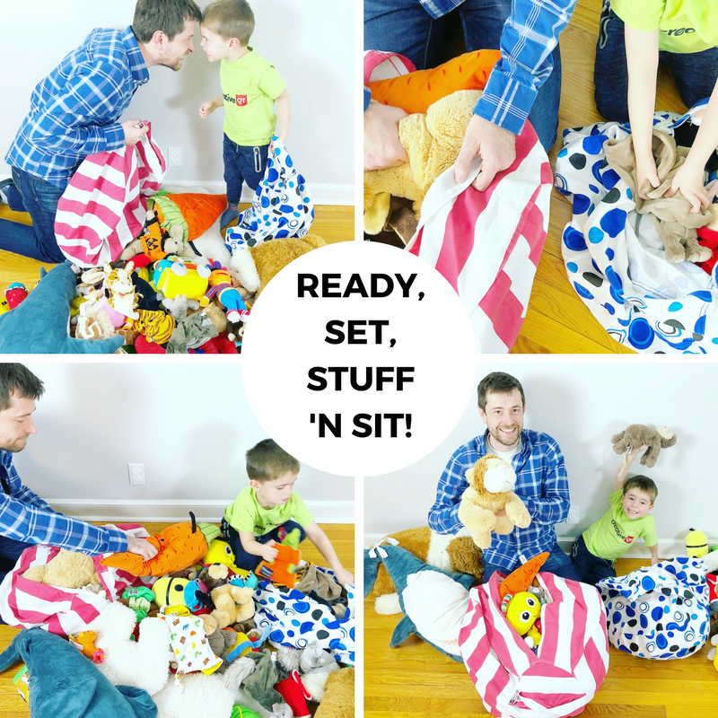 Family STEAM Challenge: Ready, Set, STUFF 'N SIT!