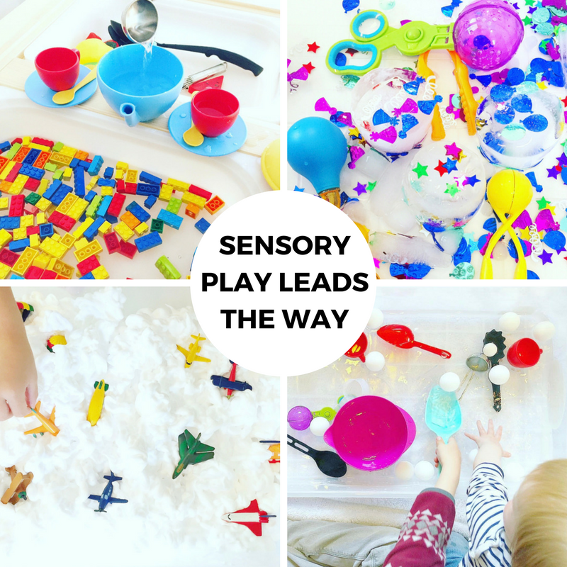 Sensory Play Leads the Way!