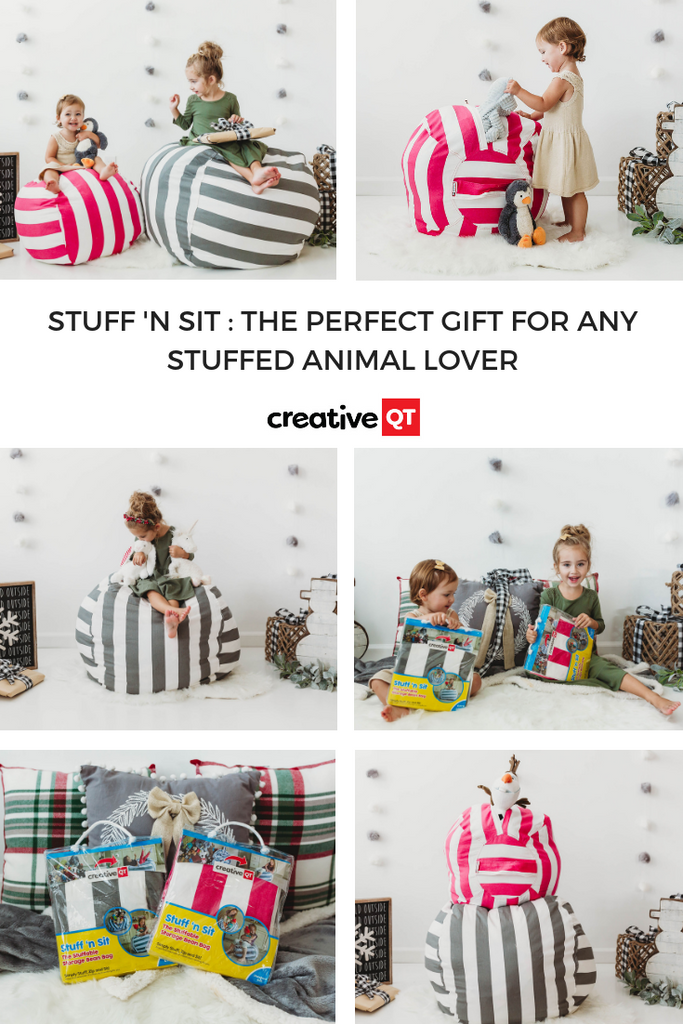 Stuff 'n Sit Storage Bean Bag: the perfect gift for any stuffed animal lover!