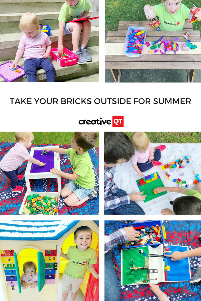 Take your Bricks Outside for Summer!