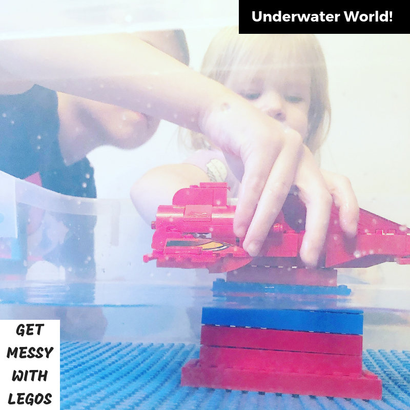 Get Messy with LEGOs: Underwater World