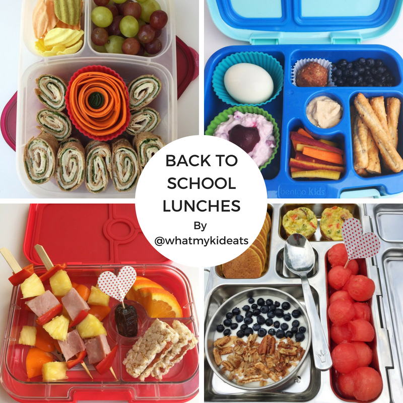 Back to School Kids' Food 101