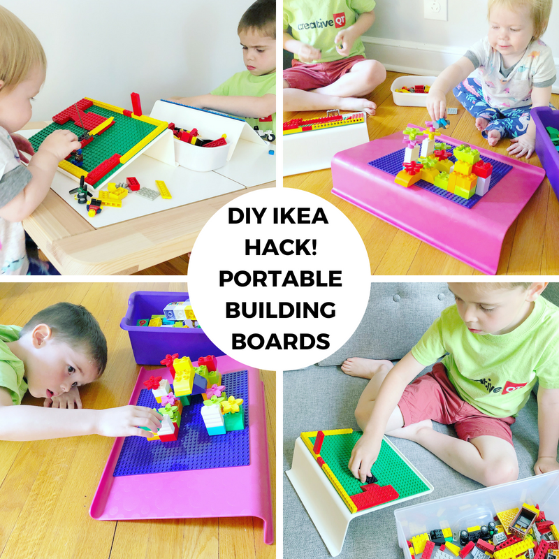 DIY IKEA HACK! Portable Building Boards