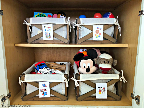 Top 5 Tips for Organizing Toys