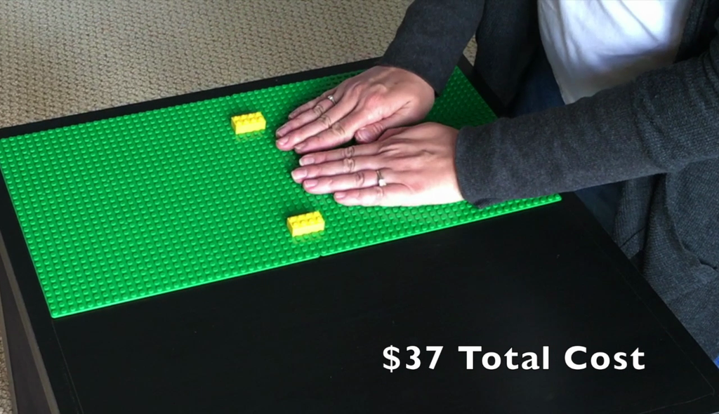 How To Make a DIY Ikea Hack LEGO Compatible Table