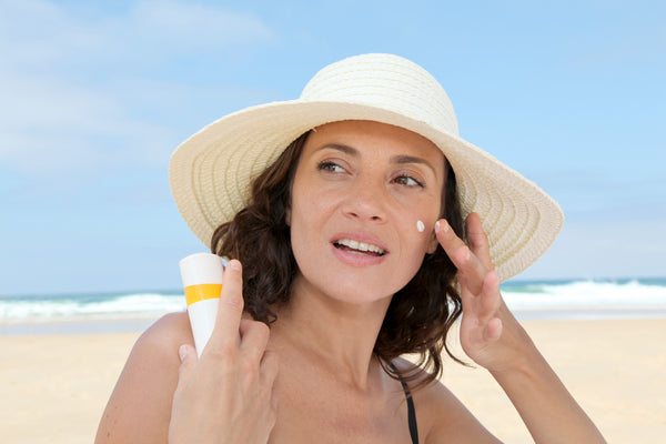 AHAs make us more prone to sun damage. Protect yourself by wearing enough sunscreen.