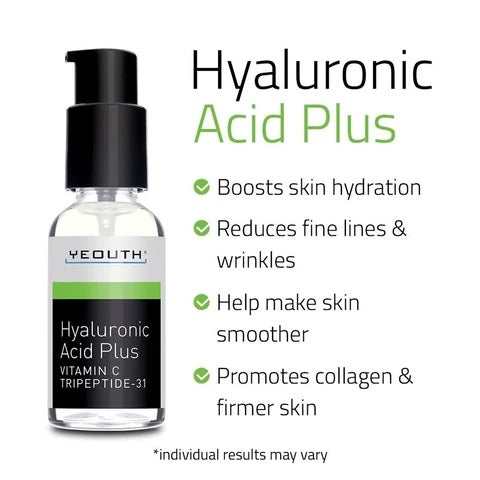 Hyaluronic Acid Plus with Vitamin C and Tripeptide 31 for Night