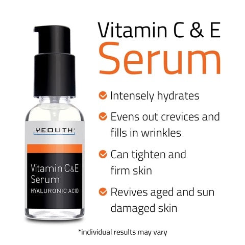 Vitamin C and E Day Serum with Hyaluronic Acid