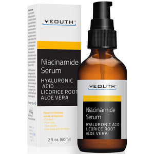 Niacinamide Serum with Hyaluronic Acid, Licorice Root Extract and Aloe Vera