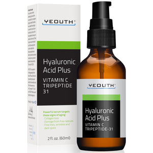 Hyaluronic Acid Plus Serum with Vitamin C and Tripeptide 31 for Night