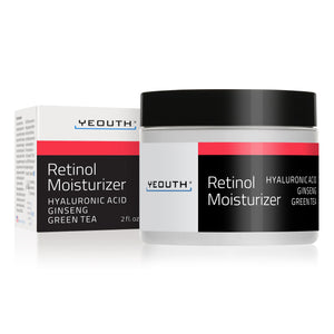 Retinol Moisturizer with Hyaluronic Acid, Ginseng and Green Tea