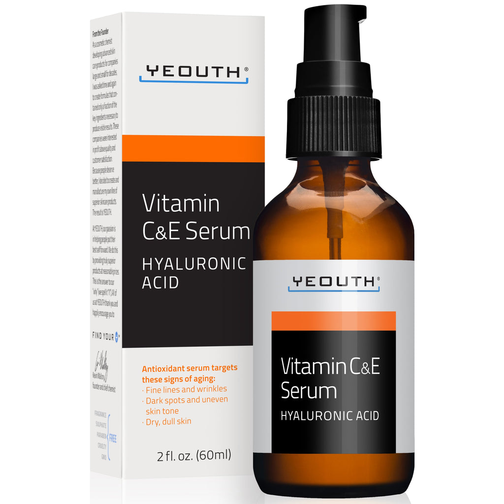 Vitamin C and E Serum with Hyaluronic Acid