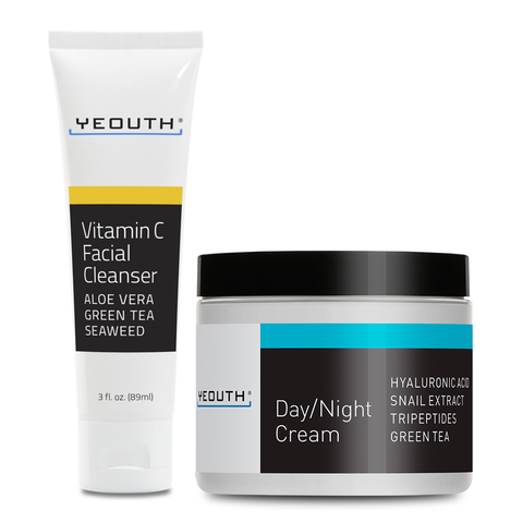 Vitamin C Facial Cleanser & Day/Night Cream