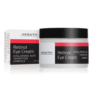 Retinol Eye Cream with Hyaluronic acid, Green Tea, and Caffeine