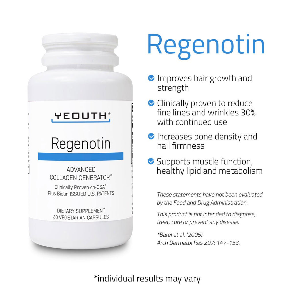 Regenotin Advanced Collagen Generator, 60ct