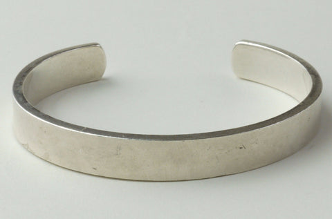 British Made Sterling Silver Cuff