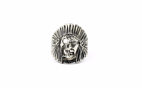 Ancient Indian Chief Ring