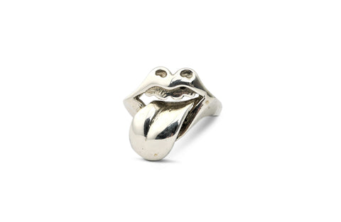 Rolling Stones Lips Ring