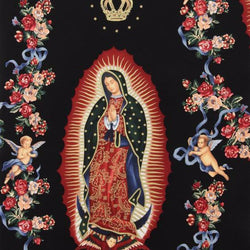 Alexander Henry VIRGIN OF GUADALUPE black M6195BRR