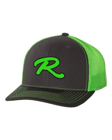 Renegades Puff Embroidered Adjustable Snapback Neon Cap