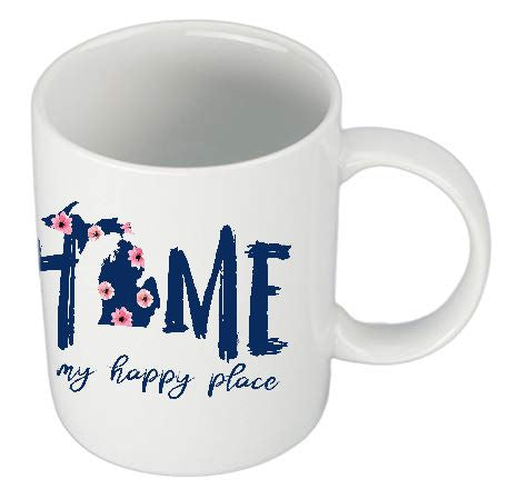 Home Is My Happy Place Mug