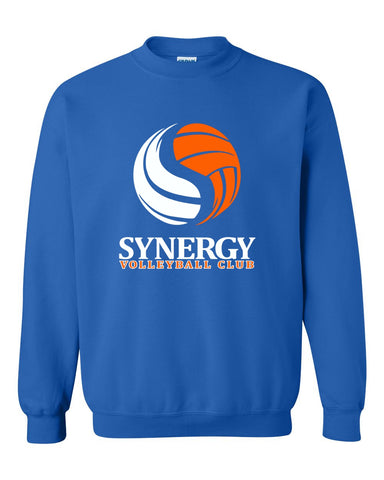 Kearsley Basketball Royal Crew Sweatshirt