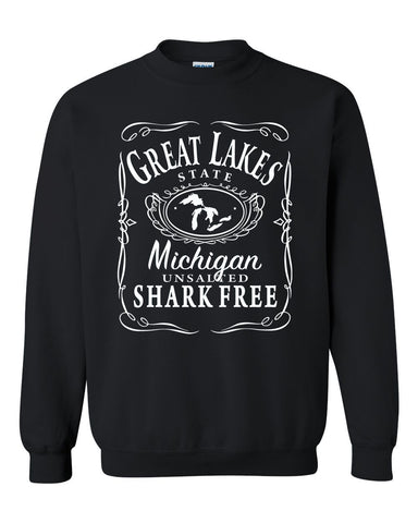 Unsalted & Shark Free Crew Sweatshirt