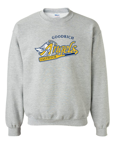 Goodrich Angels Basic Grey Crew Sweatshirt