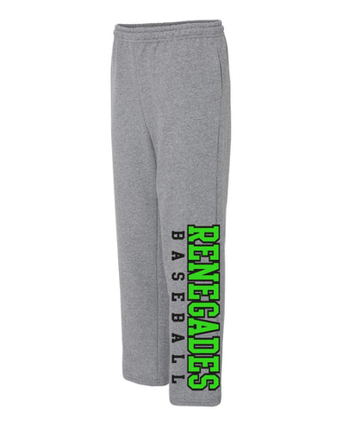 Renegades Down the Leg Fleece Pants