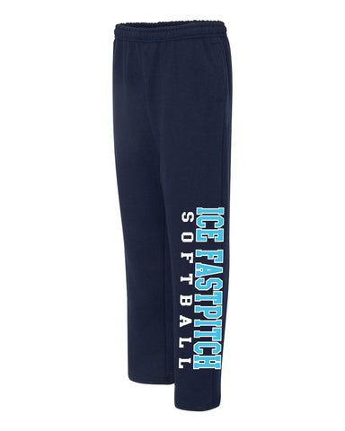 Ice Fastpitch Softball Cotton Sweatpants