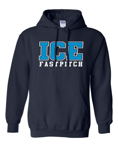 Ice Fastpitch Basic Hooded Sweatshirt