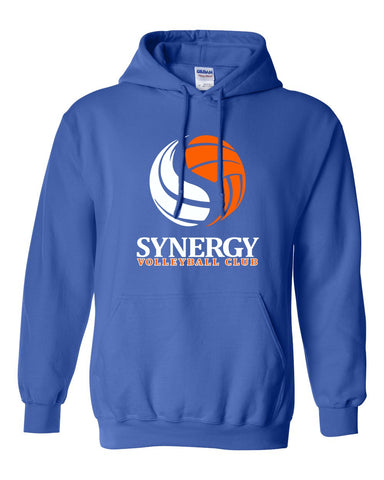 Kearsley Basketball Royal Hooded Sweatshirt