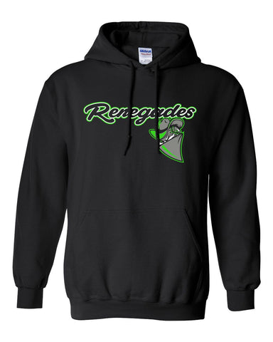 Black Renegades Basic Hooded Sweatshirt