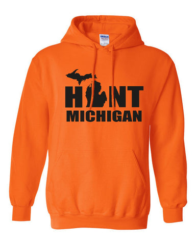 Hunt Michigan Youth Hooded Sweatshirt