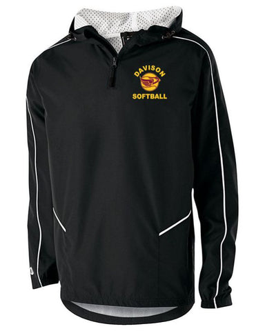 Davison Softball Black Wizard Pullover