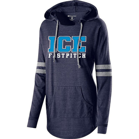 ICE Fastpitch Hooded Low Key Pullover