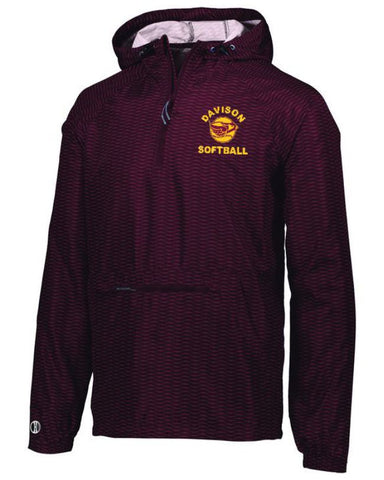 Davison Softball Range Packable Pullover