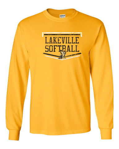 Lakeville Softball Basic Gold Long Sleeve