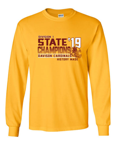 Davison Football State Champions Long Sleeve