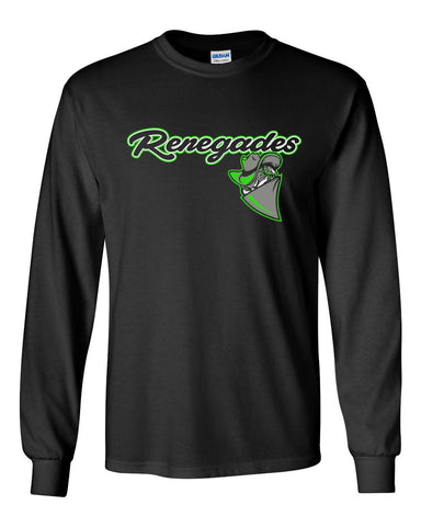 Black Renegades Basic Long Sleeve Shirt